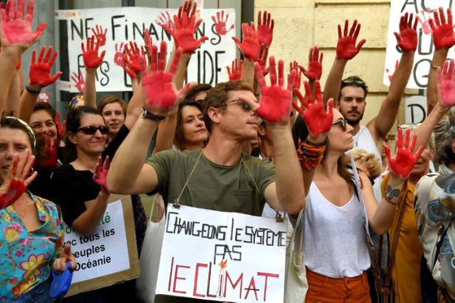 Marche pour le climat à Bordeaux, le 13 octobre 2018.