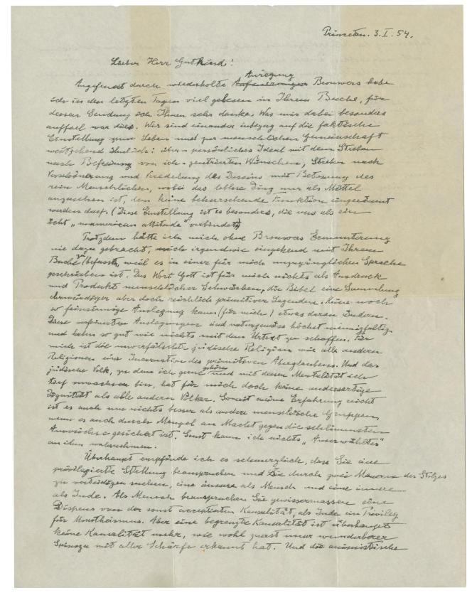 La lettre était apparue une première fois dans les salles d'enchères en 2008. Elle avait alors été vendue pour 404 000 dollars (soit près de 355 000 euros).