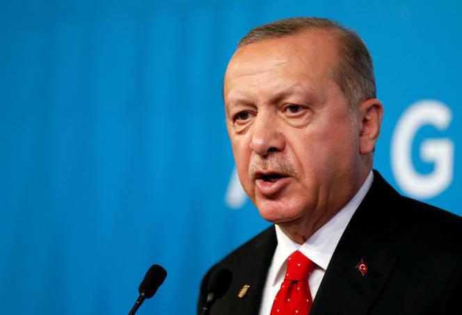 Recep Tayyip Erdogan, le 1er décembre.