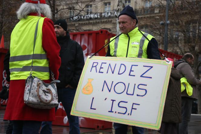 Le 1er décembre à Paris.