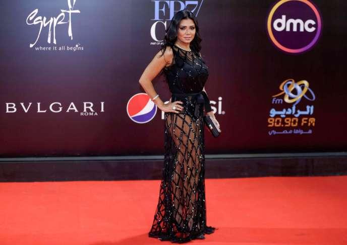 Rania Youssef àla cérémonie de clôture du Festival international du film du Caire, le 29 novembre.