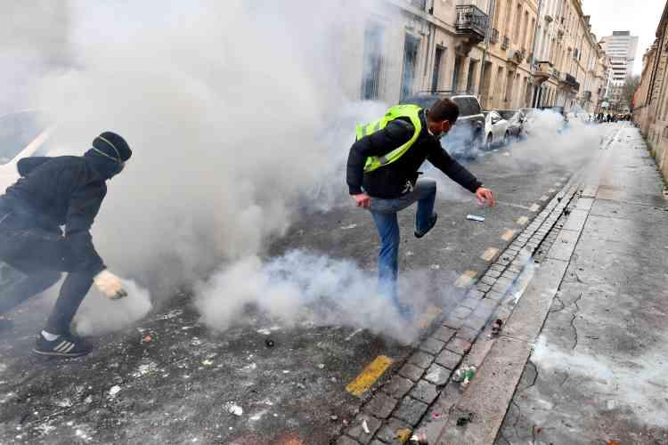 A Bordeaux aussi, le rassemblement des « gilets jaune» a donné lieu à des débordements.