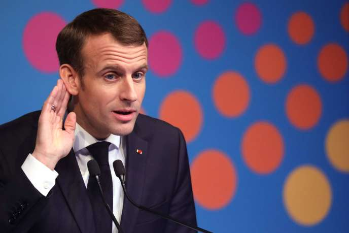 Emmanuel Macron lors de sa conférence de presse de clôture du G20, le 1er décembre, à Buenos Aires.