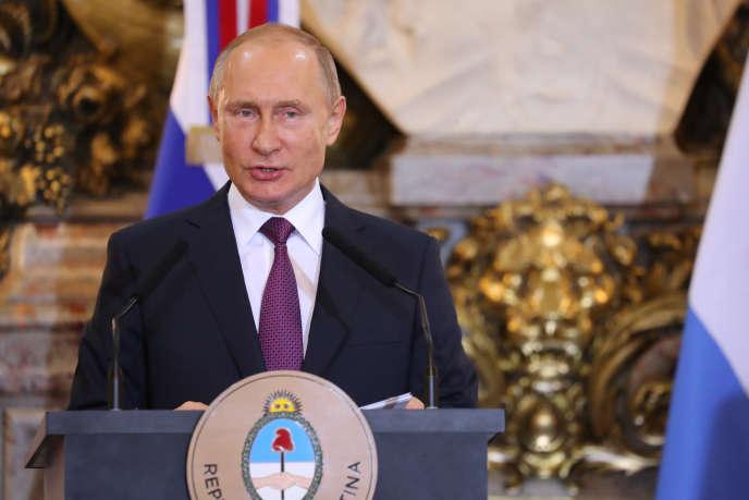 Vladimir Poutine, à Buenos Aires, le 1er décembre.