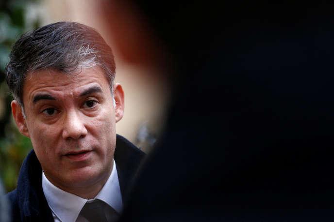 Le premier secrétaire du PS, Olivier Faure, le 3 décembre.