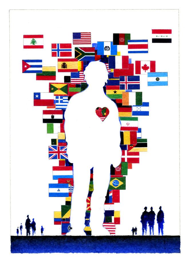 Projet non retenu de timbre pour la France (70e anniversaire de la déclaration universelle des droits de l'homme).