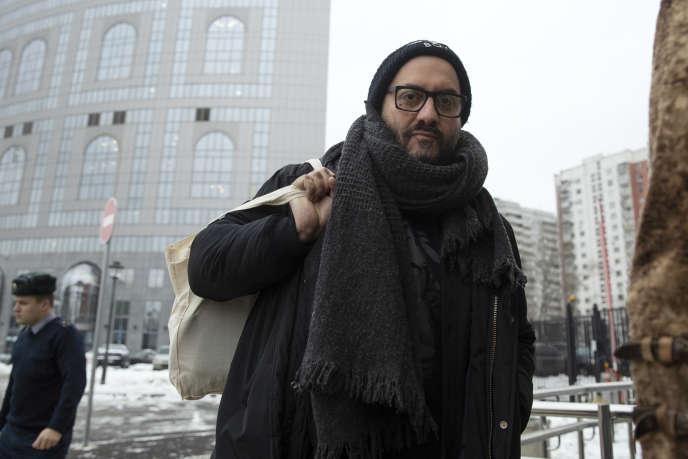 Le réalisateur russe Kirill Serebrennikov à Moscou, le 3 décembre 2018.