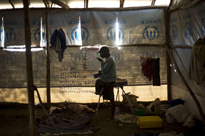 Dans le camp de réfugiés de Nakivale, en Ouganda, en mai 2009.