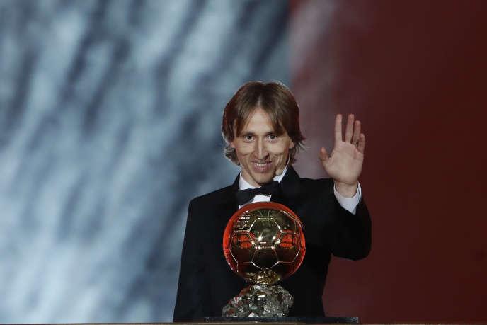 Avec 753 points, Luka Modric a été couronné Ballon d'or 2018, le 3décembre, à Paris.