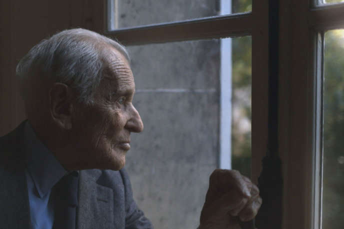 Jean d'Ormesson dans « Monsieur », documentaire de Laurent Delahousse.