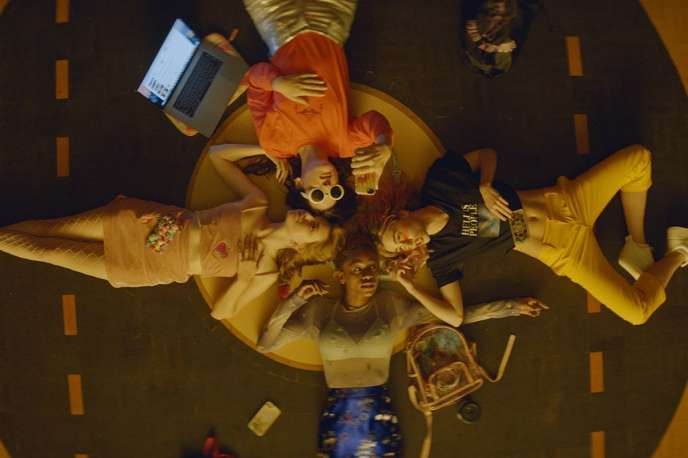 Gabrielle Olivia Mirville, Hari Nef, Odessa Young et Suki Waterhouse dans«Assassination Nation» de Sam Levinson.