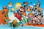 Yoichi Kotabe a redessiné les personnages de Nintendo, et notamment Bowser, en partant de la jaquette japonaise de Super Mario Bros., réalisée avant son arrivée.