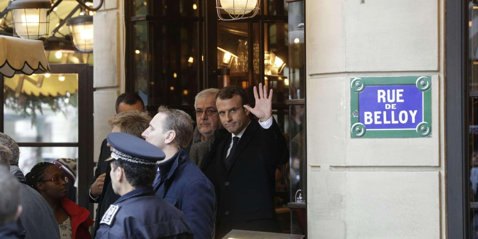 Emmanuel Macron à Paris, le 2 décembre.
