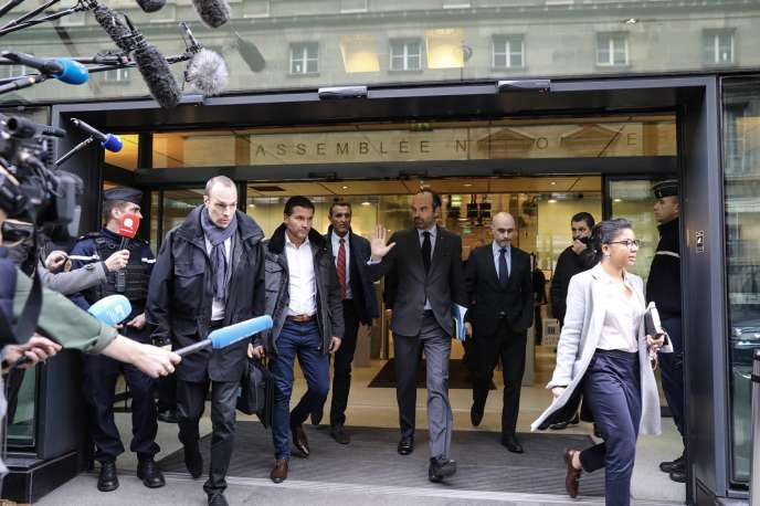 Edouard Philippe à Paris, le 4 décembre.