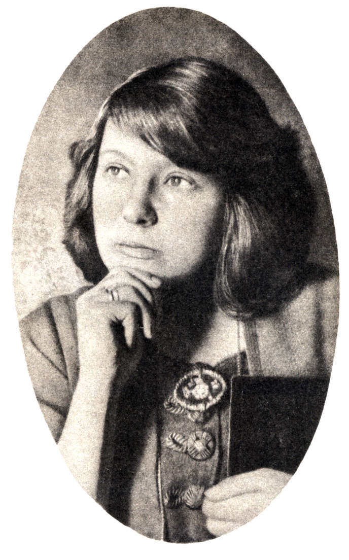 Marina Tsvetaeva (1892-1941), photo non datée.