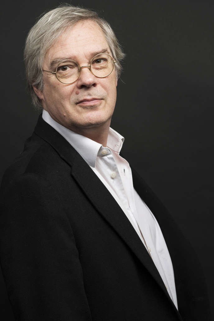 L'écrivain Jacques Drillon, en 2014.