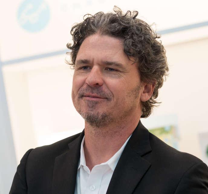 L'écrivain américain Dave Eggers, en 2018.