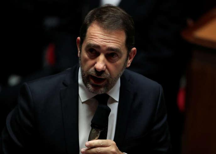 Le ministre de l'intérieur Christophe Castaner lors des questions au gouvernement à l'Assemblée nationale, le 4 décembre. REUTERS/Gonzalo Fuentes