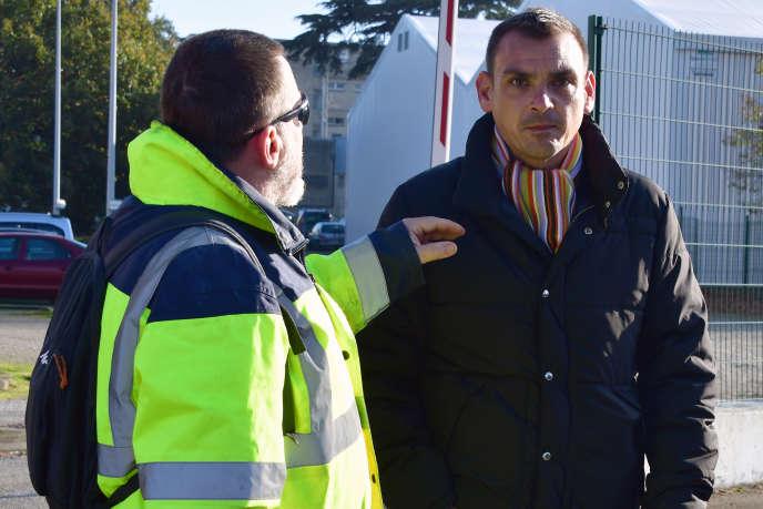 Benjamin Cauchy, à Toulouse, le 21 novembre 2018.
