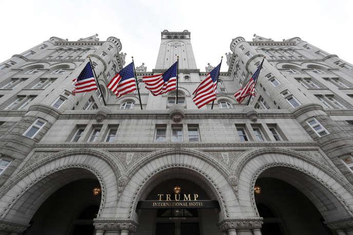 La façade du Trump International Hotel à Washington, en décembre 2016.