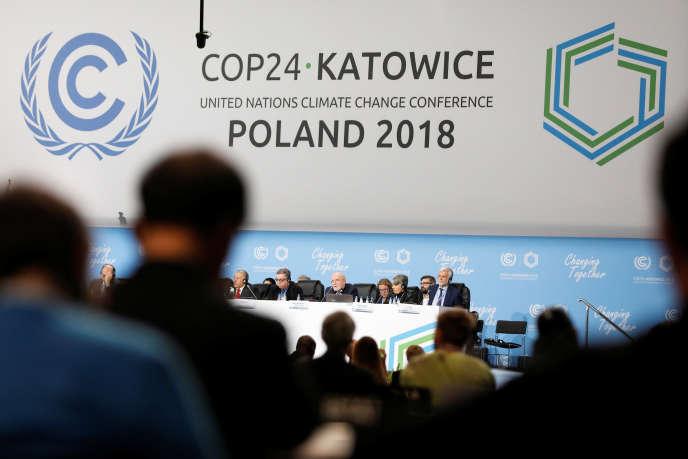 «En octobre, le groupe d'experts intergouvernemental sur l'évolution du climat a confirmé ce que la plupart d'entre nous savaient depuis longtemps : la situation est bien pire que ce que nous avions imaginé» (COP24 à Katowice, en Pologne, le 4 décembre).
