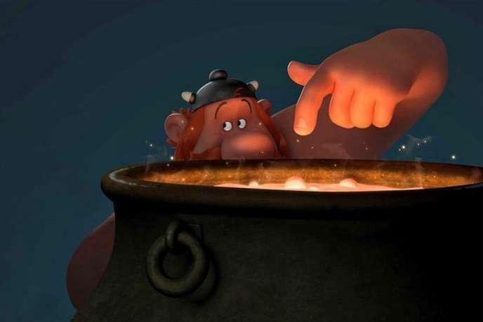 «Astérix, le Secret de la Potion Magique», film d'animation français d'Alexandre Astier et Louis Clichy.