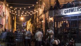 Le bar Growlers à Buenos Aires.