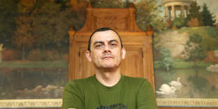 L'écrivain salvadorienHoracio Castellanos Moya, photo non datée.