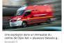 Julien Muguet, photojournaliste, a réalisé des captures d'écran des occurrences du camion rouge des pompiers, sur Twitter, de 2016 à 2018.