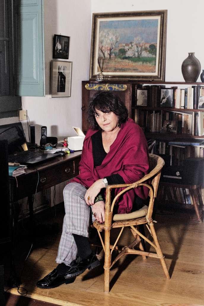 Giovanna Valls, dans la maison familiale d'Horta à Barcelone, le 21 novembre.