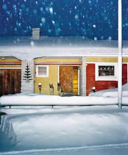 «Kiruna», 2004 (série Vinter).