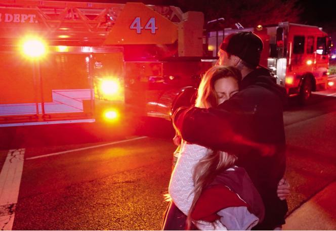 La fusillade dans un bar à Thousand Oak en Californie a fait 12 morts, le 7 novembre.
