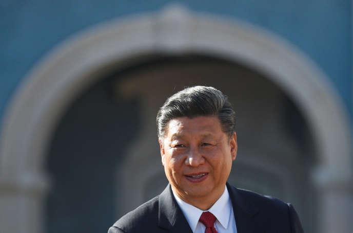 Le président chinois Xi Jinping, le 5 décembre 2018 au Portugal.