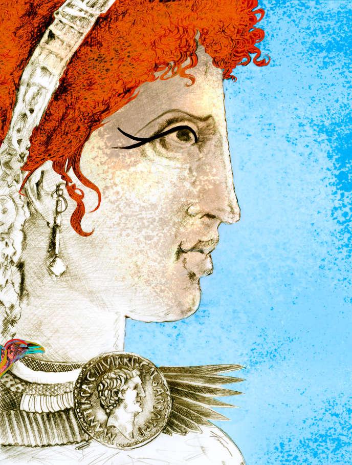 Cléopâtre(69-30 av. J.-C.).