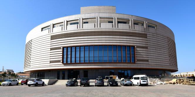 Le Musée des civilisations noires à Dakar, ici le 27 novembre 2018, sera inauguré le 6 décembre.