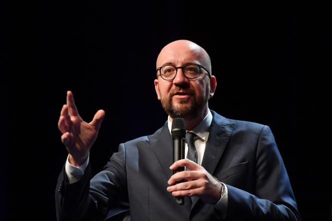 Le premier ministre Charles Michel à Louvain, le 20 novembre.