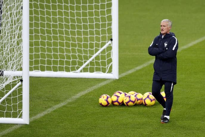 Didier Deschamps, au Stade de France, le 19 novembre.