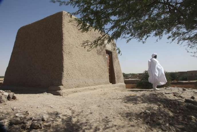 Un mausolée à Tombouctou, au Mali, en février 2016.
