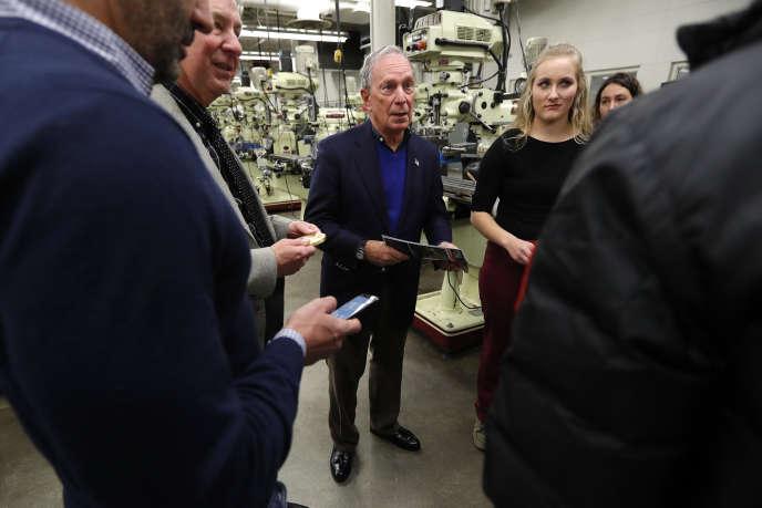 Michael Bloomberg, Ankeny, Iowa le 4 décembre 2018.