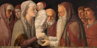 «La Présentation du Christ dans le Temple» (1470–1475), de Giovanni Bellini.