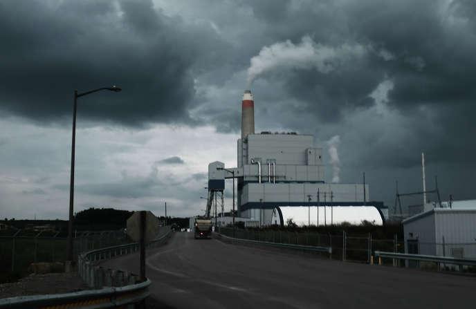 Une centrale au charbon à Maidsville, en Virginie-Occidentale (est des Etats-Unis), en août.