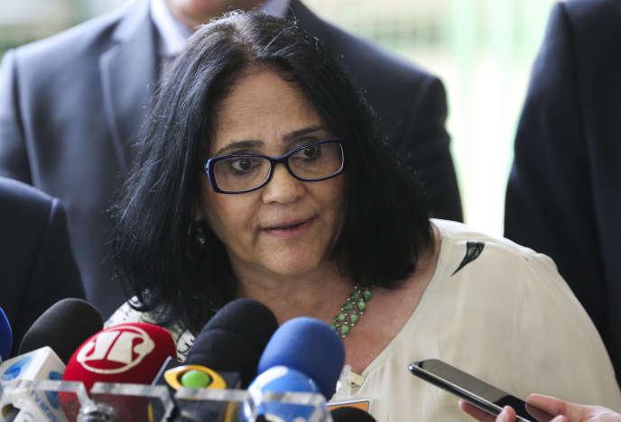 Damares Alves, le 6 décembre à Brasilia.