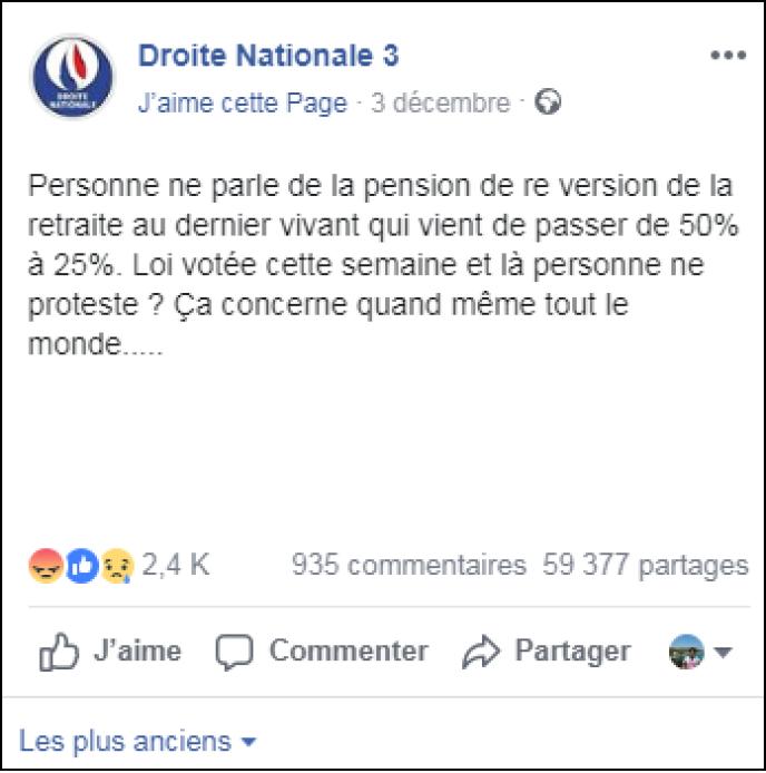 Non Les Pensions De Reversion Ne Vont Pas Diminuer De 25