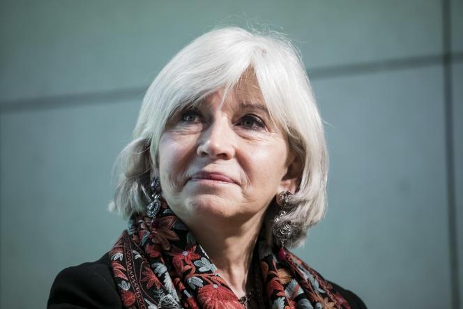 Laurence Tubiana, directrice de la Fondation européenne pour le climat, lors du One Planet Summit des entreprises, à Paris, le 11 décembre 2017.