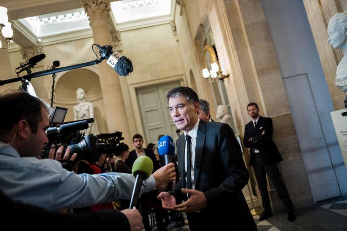 Le député et premier secrétaire du Parti socialiste, Olivier Faure, à l'Assemblée nationale, mercredi 5 décembre.