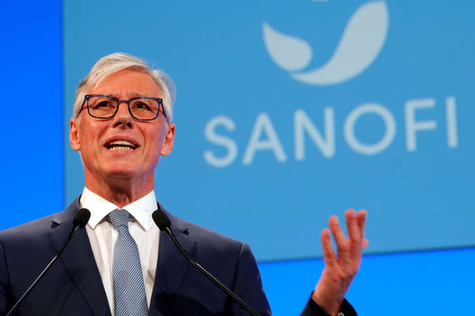 Olivier Brandicourt, patron de Sanofi, à Paris, en mai.