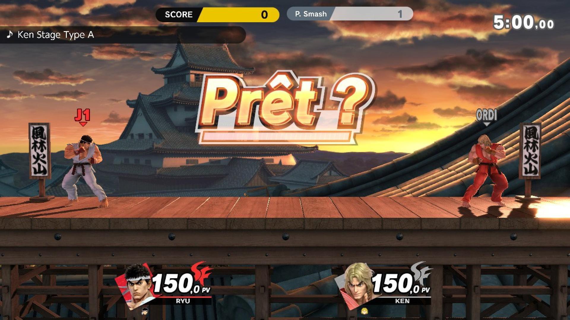 Le meilleur street fighter de fin d'année est dans «Smash Bros.».