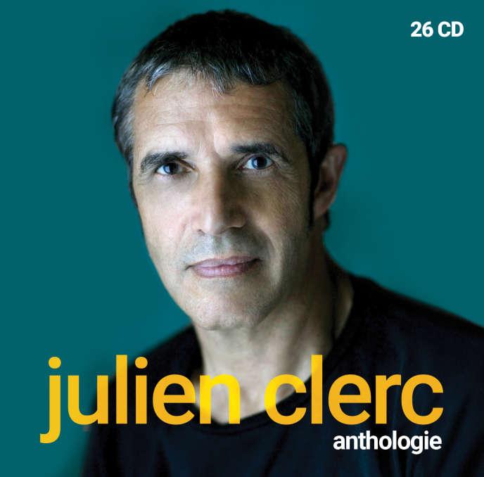 Le cofffret «Anthologie», de Julien Clerc.