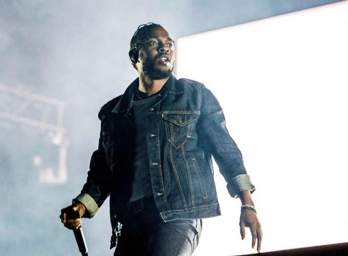 En juillet 2017, Kendrick Lamar au Festival d'été de Québec (Canada).