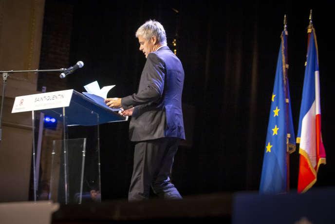 Face à la crise des «gilets jaunes», Laurent Wauquiez contraint à un exercice d'équilibriste